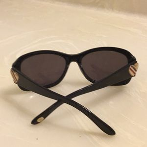 Juicy couture black sunglasses 😎